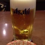 三宝庵 - 生ビールセット 税込400円