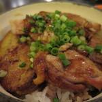 ユリイカ - 地鶏、フォアグラ、九条ネギ、庄内米つや姫のココットご飯