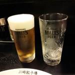 川崎餃子樓 - 2杯目~(^^)