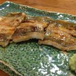 Shiduka - 確か四番目ぐらいに出た穴子の白焼き。やばし。