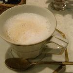 白い幻想 - カフェオレ。