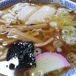 福家そばや - ワンタンメン 2014.8