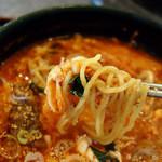 らでぃっしゅ - カルビラーメン 麺Up