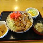 30020699 - 焼肉丼定食580円