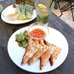 モンスーンカフェ - タイ海老トースト