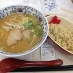 まつの屋 ゆめタウン呉店 - ラーメンチャーハンセット(790円)