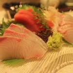 澄仙 - マグロ、かんぱち、鯛