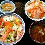 寿し兼 - 料理写真:どんぶり街道の白波丼 ¥1180