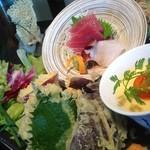 いろり - 料理写真:贅沢とかいて刺天膳!!ホントにおすすめなんです!