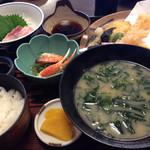 活魚料理 讃岐家 - 讃岐屋A定食