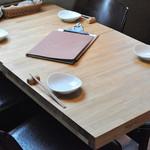 シェフズキッチン ポルナレフ - 窓側4名テーブル