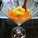 30041274 - 雲丹とイクラのお寿司