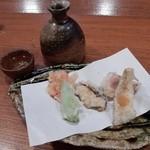 銀平 匠 - 天ぷら(海の幸と野菜)