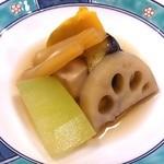 第二力酒蔵 - 煮物盛り合わせ☆720円