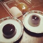 柳家 - すあま、茶まんじゅう、水ようかん、水まんじゅう