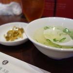 30048230 - スープ&搾菜つき