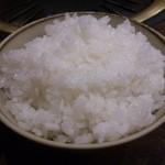 春香苑 - ・冷麺定食のご飯