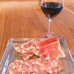 虎ノ門バール - 赤ワインとシャルキュトリー