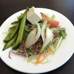 カーン・ケバブ・ビリヤニ - サラダ