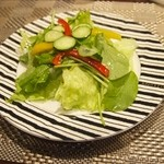 れすとらん オールディーズ - 手作りドレッシングがちょっぴり甘味もあり、絶妙〜☆野菜の美味しさを引き立てます!