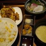 千尋の道 - お造りと天ぷら