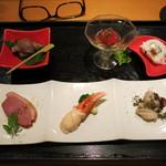 30052698 - 3500円コースの 季節の前菜(6点盛り)