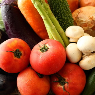 お野菜とオリジナルメニュー