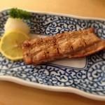 とんかつ 安右衛門 - 鮪の生姜漬け焼き