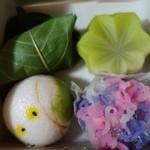 東宮 - (2014/6月)くず桜、青楓、蛍、紫陽花