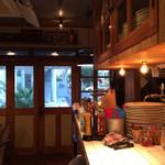 ブルックリンパンケーキハウス - 小さいお店ですがお洒落です