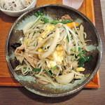 ワードオブマウス - ニラ玉子炒め 830円