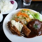 洋食家 アルハンブラ - とある日の、サービスランチ(2014,6)