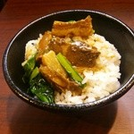 蒲田刀削麺 - 豚バラ丼