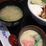 30059761 - 「うなぎ山かけ丼 大盛り」 1,188円