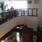 めぐみコーヒー - 2階席から観る