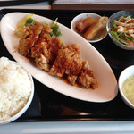 30062081 - 若鶏のサクサク揚げ辛味ランチ