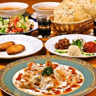 ●○●世界三大料理トルコ美食コース2,500円●○●