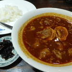 30063792 - 牛すじのスープカレー(1100円)