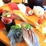 沼津魚がし鮨 - 生シラス様&桜えび様を見れば静岡って感じ!