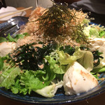 ワインカフェ 月 - 季節の野菜サラダ (コース)
