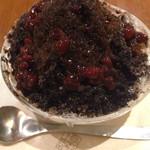 上島珈琲店 - 2013年のほうじ茶かき氷