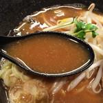 らーめん 玉彦 - スープ