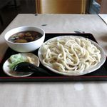 之乃屋 - 鴨汁野菜せいろうどん(850円)