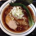 麺屋 たけ井 - 豚骨魚介清湯ラーメン 並