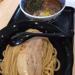 麺屋 たけ井 - 濃厚豚骨魚介つけ麺 並