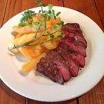 30069971 - 土日祝日ランチコースの日替わり肉料理(2400円) バベットステーキ