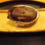 3007414 - 鮑の肝焼。