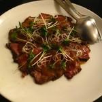 30071119 - 牛肉のタタキ(1300円)