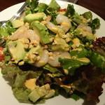 レストラン レジーナ - 海老とアボカドのサラダ:1,280円