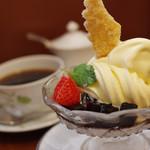 椿屋カフェ - コーヒーゼリー